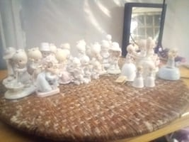 Presious moments statues approx 30