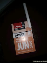 June Adult Bus Pass