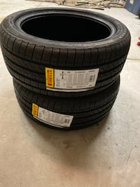 Two Pirelli tires size 225/45/17 Brand New North Charleston, 29485