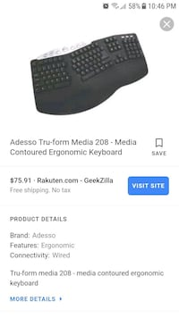 Brand new keyboard 542 mi