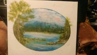 """Original""""MountainLake""""Painting by DonDonnelly 1991 Kelowna, V1X 2M6"""