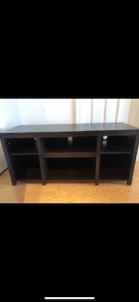 TV STAND MEDIA UNIT WITH ADJUSTABLE SHELF WOODEN Washington, 20008