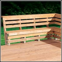 Deck bench kit