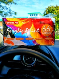 Acrylic Paint Set, Shuttle Art 66 Color Woodbridge, 22192