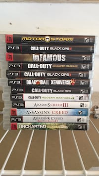 PS3 games. Great condition. No scratches   Monroe, 10950
