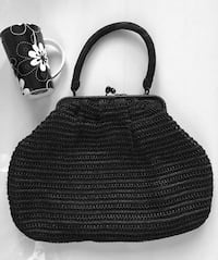 Vintage 1940's -1950's Walborg Braided Handbag. Made in Italy. MONTREAL