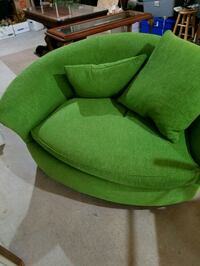 green and black fabric sofa chair Canton, 30115