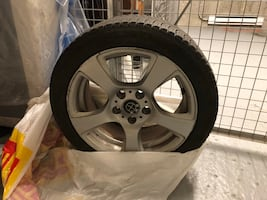 17 inch mags and tires for Bmw