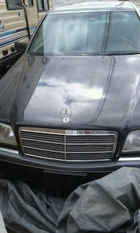 black Mercedes-Benz car 1999  Edmonton, T5J 0L9