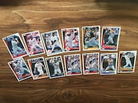 13 TOPPS MLB CARD COLLECTION 2002 BASEBALL