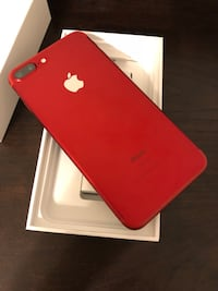 Iphone 7 plus product (red) 128gb unlocked