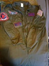 Adult Halloween top gun costume Rockford, 61108