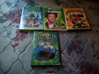 four assorted DVD movie cases Bacliff, 77518
