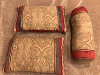 3 (like new) pillows in rust and tans. Purchased for $130 new!! Sioux Falls, 57103