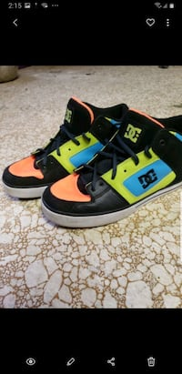 Special edition DC skate shoes.