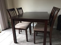 Dining Table + 4 chairs Mississauga, L5L