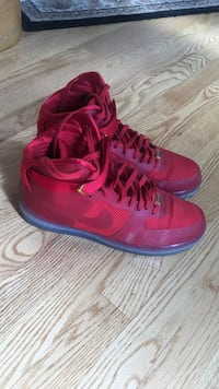 Pair of red air force 1's. size 12. will negotiate Canton