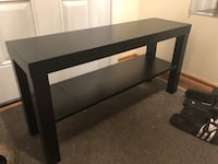 rectangular black wooden coffee table St Catharines, L2S 2S9