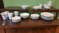 white ceramic plates and bowls Herndon, 20170