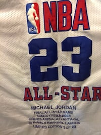 Michael Jordan final All-Star game Limited addition 1 out of 23