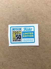 Replacement Pop Vinyl SDCC 2019 Stickers Mississauga, L5A 2J5