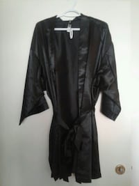Black satin robe Edmonton, T5H 1M7