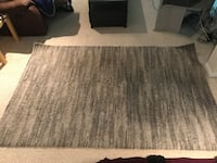 Grey area rug Coldwater, L0K 1E0
