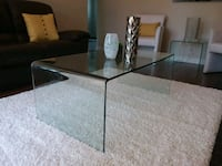 Glass coffee table and side tables Aurora, L4G 5Y2