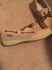Pair of brown eastland leather boat shoes Fort Pierce, 34982