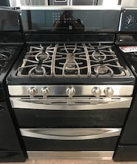 Kenmore double oven gas stove 90 days warranty Reisterstown, 21136