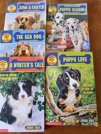Scholastic  chapter Books.  FUN Read for dog lovers.
