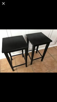two black wooden side tables Ajax, L1S 5B3