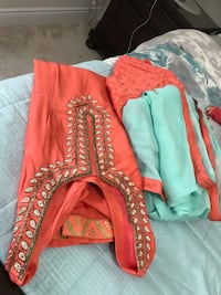 Indian Punjabi suit, medium to large size. Used once Brampton, L6Y 6E7