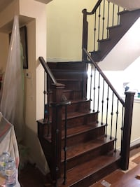 Stairs and flooring