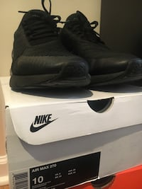 Nike Air Max 270 Black Size 10  Washington, 20024