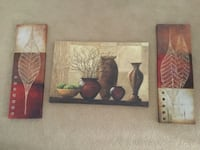 two brown wooden framed paintings Chesterfield, 63017