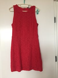 Women's red sleeveless dress Vancouver, V6K 2V9