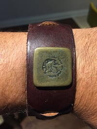 Bracelet of leather DIESEL!