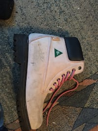 Pink construction boots (ladies) 639 km