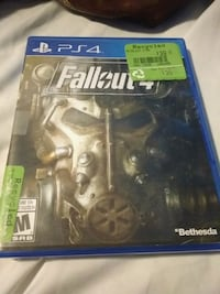Fallout 4 PS4 game case Amherstview, K7N 1B7