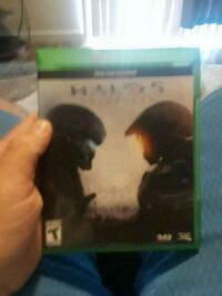 Xbox One Halo 5 game case Fort Worth, 76244
