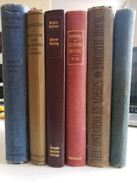 1908-1959 Antique Non-Fiction History, Science, Music Books Calgary, T2R 0S8
