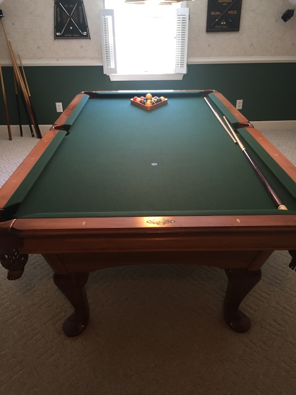 Used Pool Table AMF Playmaster Includes Cost Of Moving For Sale - What does it cost to move a pool table