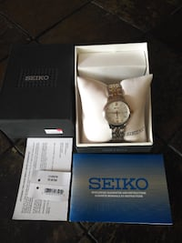 NEW Seiko SUR705 Classic 2-Tone Stainless Steel Women's Watch  Toronto