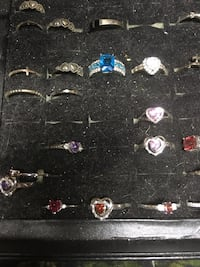 Assorted silver-colored rings Las Vegas, 89106