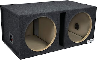 Bbox Dual 12-Inch Shared Vent Subwoofer Enclosure