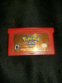 Pokemon FireRed Nintendo game cartridge Regina, S4P 2R7