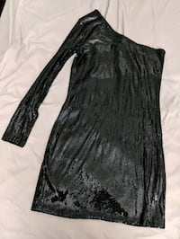 Dynamite black sequin dress Large Montreal