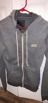 gray vans sweatshirt