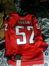Autographed Mike Green Authentic NHL Games Jersey. Nanaimo, V9S 2B5
